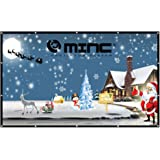Outdoor Portable Projector Screen 120 '' 16:9 Home Cinema Movie Screen by MINC
