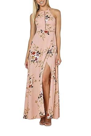 Kleid lang rosa amazon