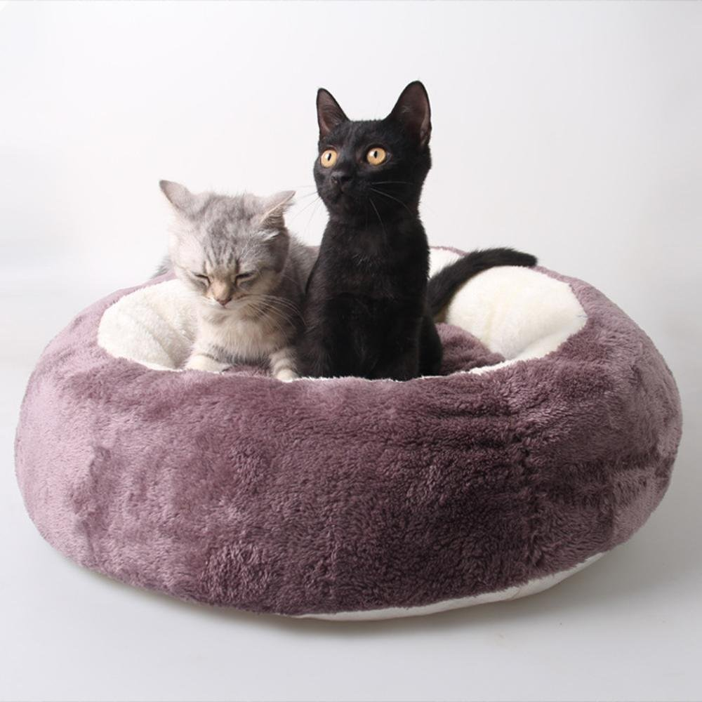 C Lozse Pet Beds Removable cat litter round pet nest for Dogs and Cats Sleeping Cushion