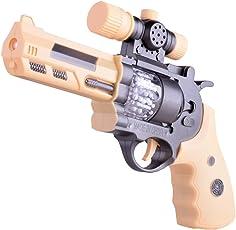 YeahiBaby Juguete de Pistola con Luz y Sonido para Niños Regalo para Niños