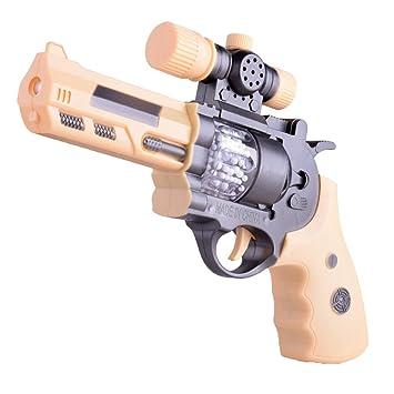 Yeahibaby Juguete Niños Pistola Luz Con Y Sonido De Regalo Para lJFK13Tc