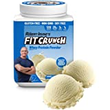 FITCRUNCH Whey Protein Powder | Keto Friendly | Designed by Robert Irvine | 120 Calories, 25g of Protein & 1g of Sugar…