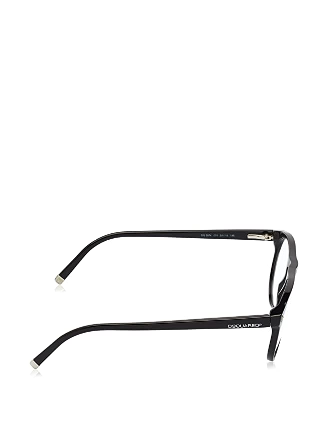 Amazon.com: Dsquared2 dq5074 Unisex Wayfarer acetato Marcos ...