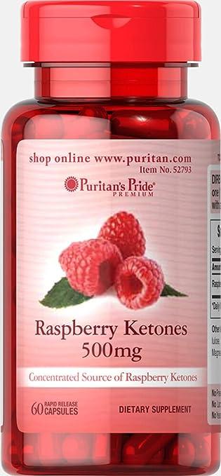 Amazon.com: Puritan 's Pride de frambuesa Ketones 500 ...