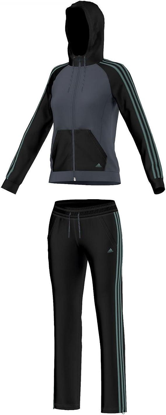 adidas New Young Knit - Chandal para Mujer: Amazon.es: Deportes y ...