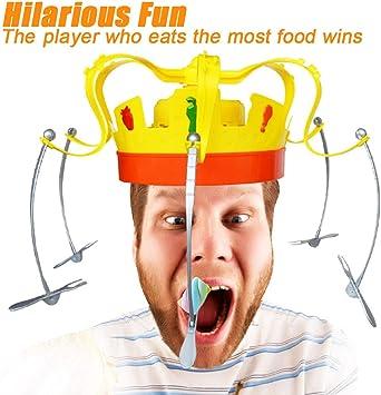 Cocal Funny Novel Chow Corona Juego Musical Spinning Corona Snacks ...