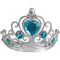 Frozen Mavi Taşlı Kalpli Taç