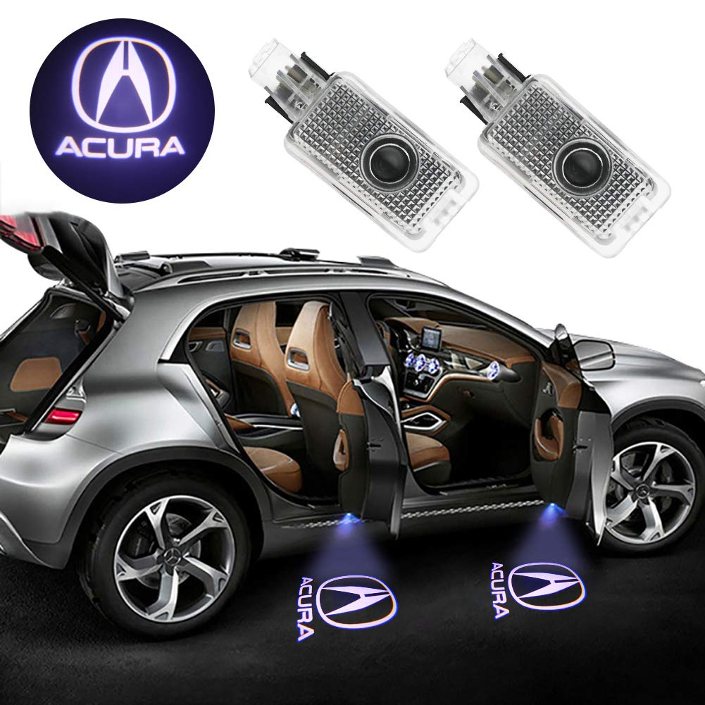Grolish Car Door LED Lighting Entry Ghost Shadow Projector Welcome Lamp Logo Light for Audi Series