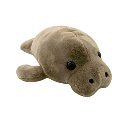 "Canned Critters Stuffed Animal: Manatee 6"": Toys & Games"