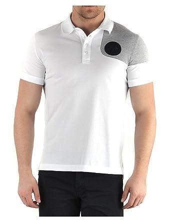 Amazon Com Bikkembergs Polo London City White Clothing