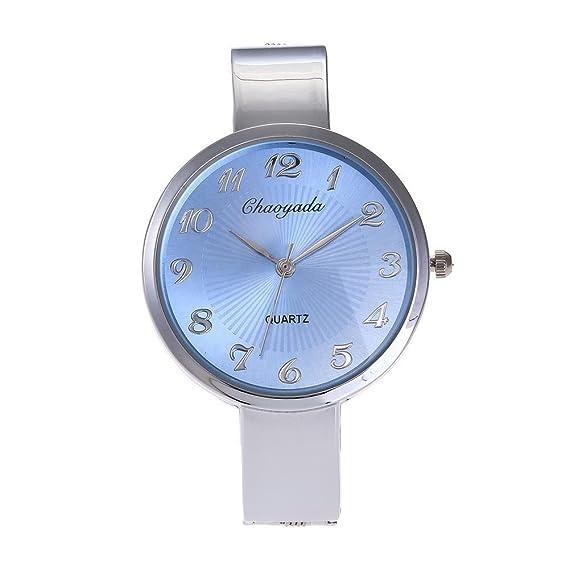 HWCOO Reloj creativo de las mujeres del reloj de moda reloj creativo pulsera comercial reloj explosivo