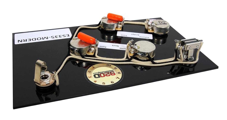 Es 335 Wiring Harness Modern Gibson Prewired For Cts Switchcraft Orange Drop Amazon