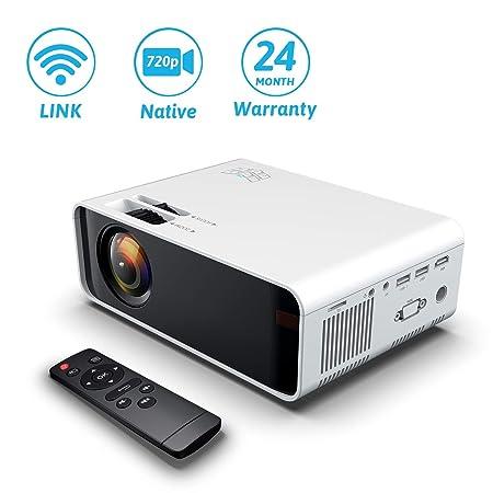 Proyector de cine en casa WIFI 8000Lumes Proyector ...