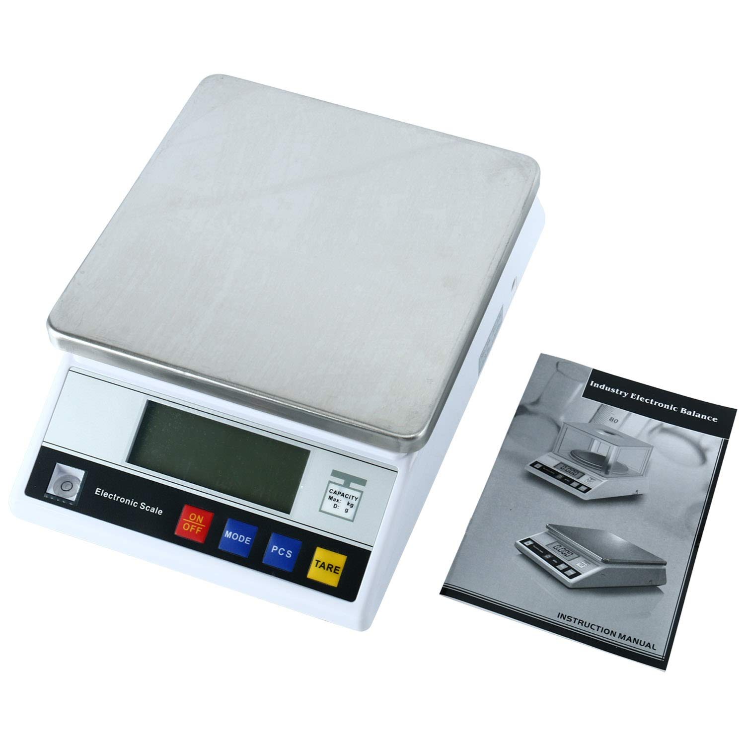 High Precision Digital Accurate Analytical Electronic Balance Laboratory Weighing Industrial Scale with Counting Function Lab Scale (5kgx0.1g)