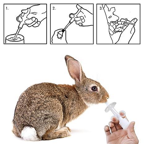 Hinmay Perro Cachorro Gato Tableta Medicina Cápsulas Herramienta de Alimentación Mascota Pusher Shooter Pastillas Alimentador Tablet