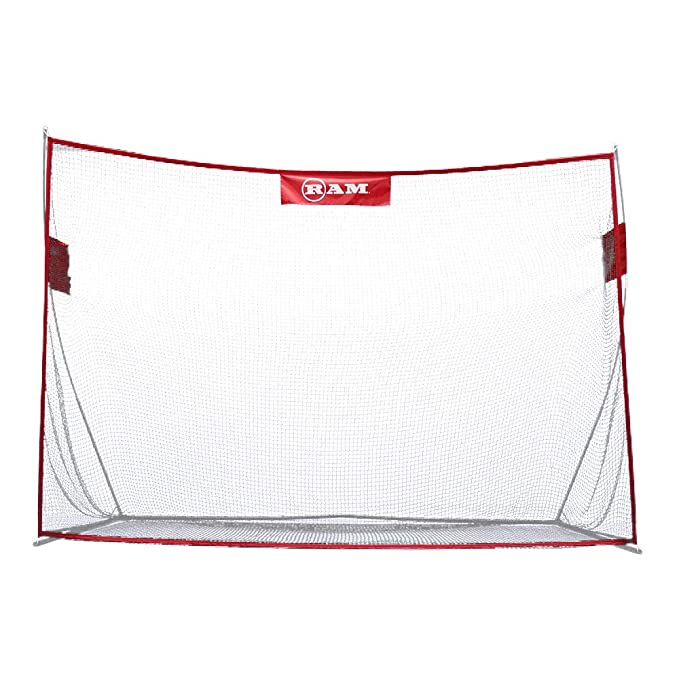 Ram Golf Deluxe Extra Large Portable Golf Hitting Practice Net