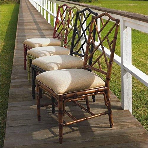 Tommy Bahama Home Island Estate Ceylon Fabric Dining Chair-Noche - Noche (Tommy Bahama Dining Chairs)