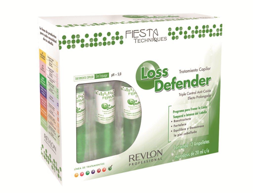 Revlon - Tratamiento Loss Defender Anti-Caida: Amazon.com.mx: Salud ...