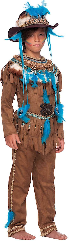 Costume di Carnevale da Grande Capo Indiano Vestito per Ragazzo 11-12 Anni  Travestimento Veneziano Halloween Cosplay Festa Party 50687 Taglia 11 XXL   ... 6e4cbcfd1e9