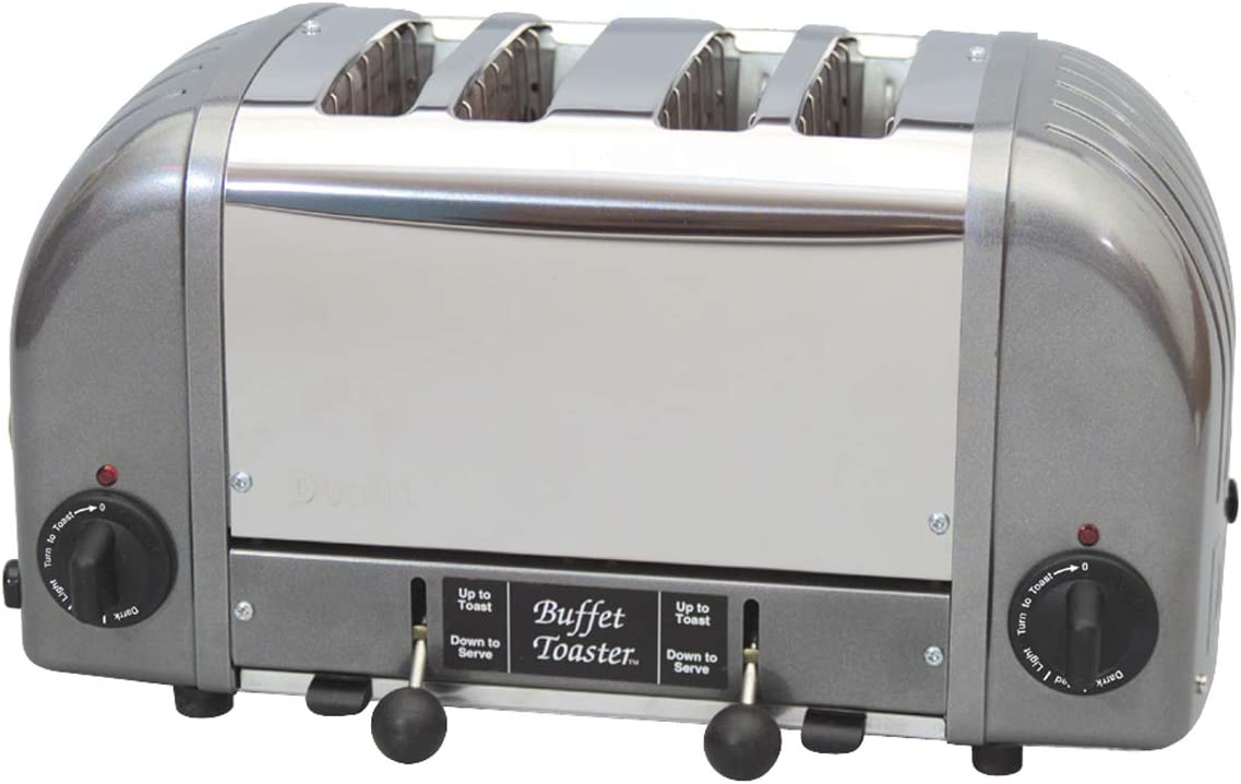 Cadco 4-Slot Buffet Toaster, 120-Volt