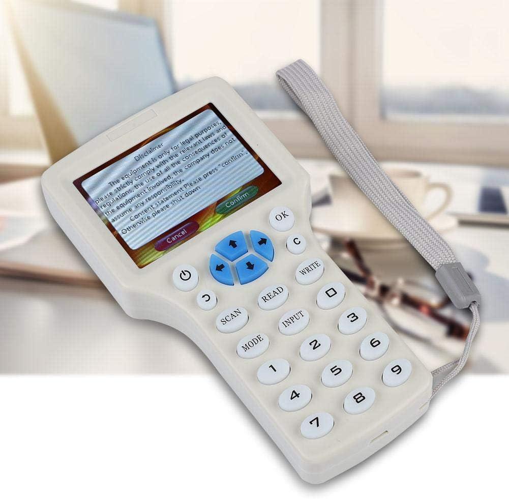 Seguridad Copiadora de tarjetas 9 Frecuencia Copia Multifuncional Cifrado NFC Tarjeta Inteligente RFID Copiadora ID//IC Reader Writer