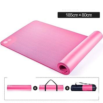 Amazon.com: DERTHWER Yoga Mat Yoga Mat Beginner 10MM Long ...