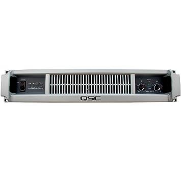QSC PLX 1804 Amplificador 2 X 900 W 2HE Power Amp 1800 W Amplificador