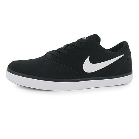 Nike SB Check Zapatillas Deportivas para Hombre Negro/Blanco Casual Zapatillas Zapatos Calzado, Negro