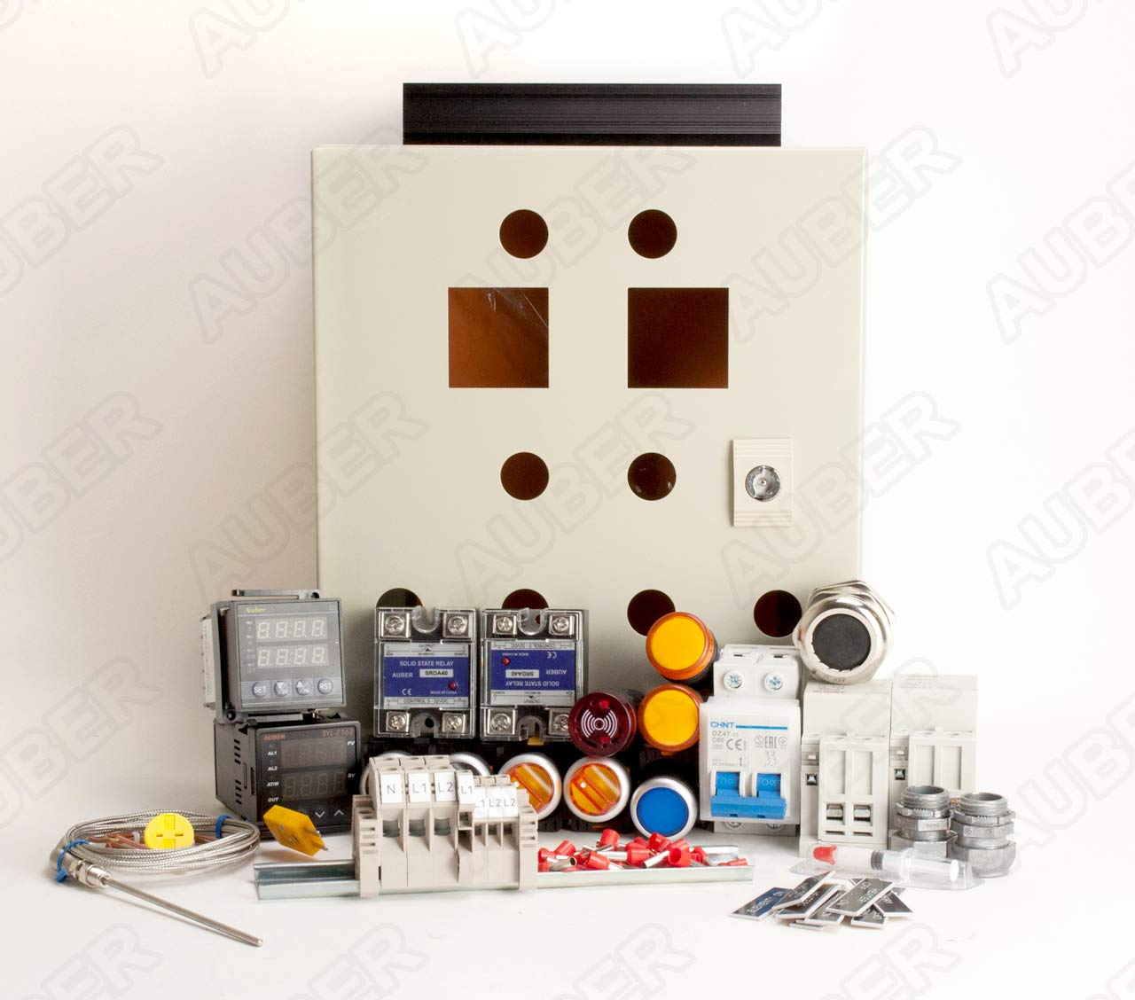 Powder Coating Oven Controller Kit, 240V 50A 12000W (KIT-PCO2)