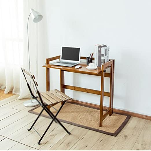 Xiaolin Escritorio De Oficina Mesa Plegable Libro Madera De Bambu ...