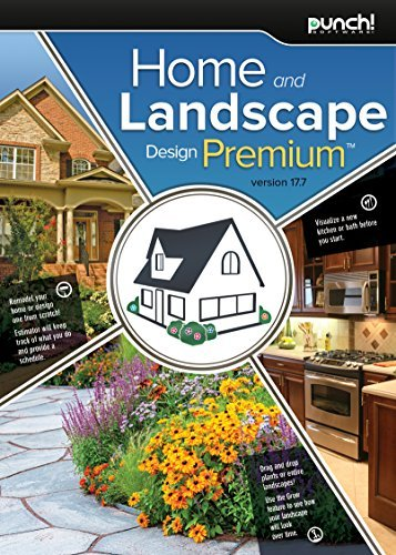 Punch! Home & Landscape Design Premium v17.7 Home Design Software for PC [Download] by Punch! (Encore Software)