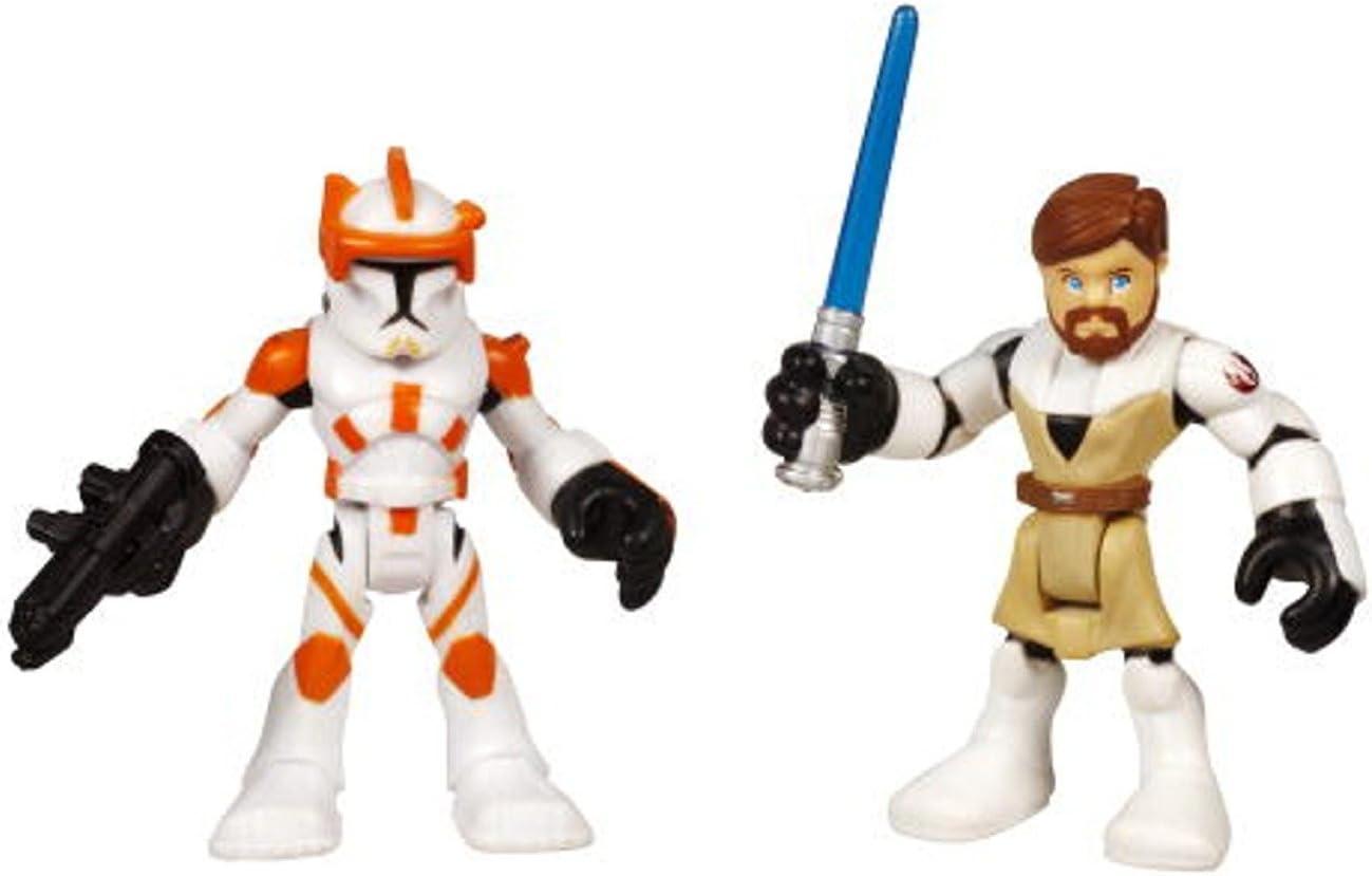 5X Playskool Star Wars Galactic Heroes Jedi Force Scout Trooper action Figure #S