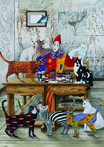 Heidi Puzzles - The Colored Cats 260 Piece Jigsaw Puzzle - 19 x 13.5 inches - Imported from Turkey from Art Puzzle