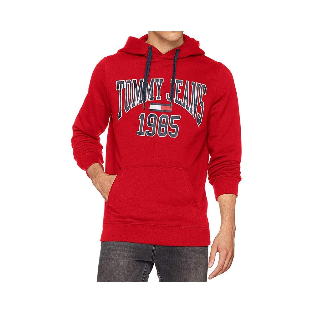 2479a65c Tommy Jeans Men's Essential Graphic Hoodie: Amazon.co.uk: Clothing