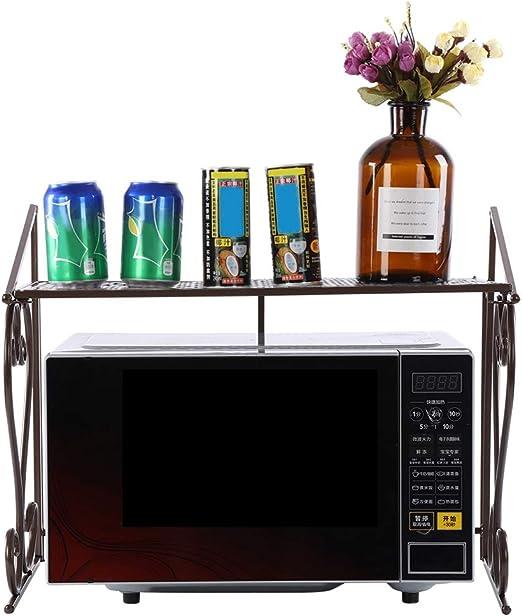 Soporte de horno para microondas, estante de metal para horno ...