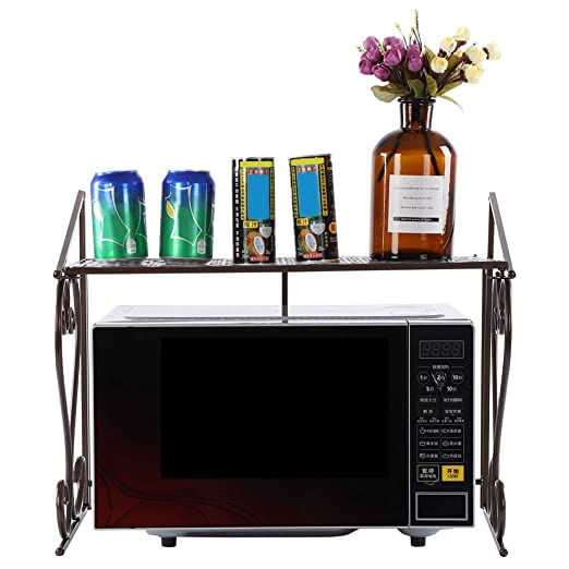 Soporte de horno para microondas, estante de metal para ...