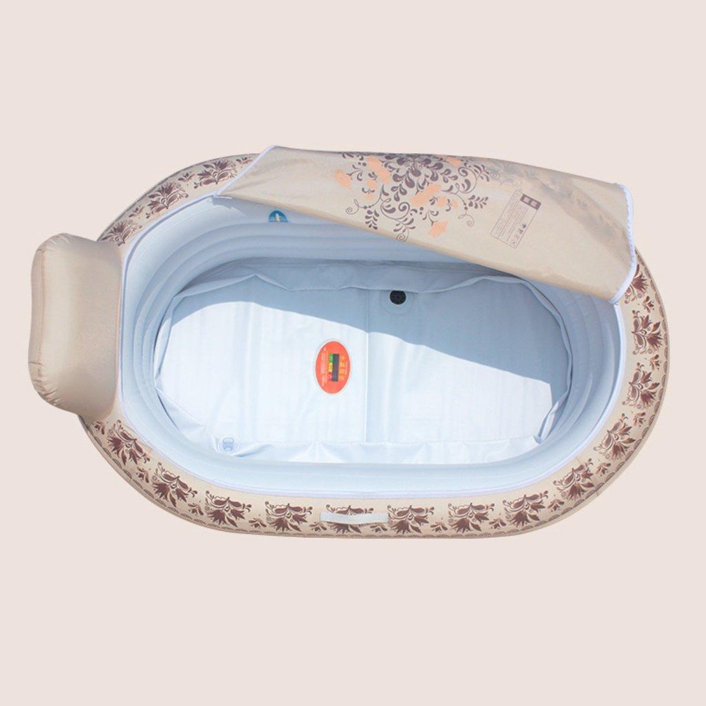 Amazon.com: MILUCE Household European - Style Inflatable Bathtub ...