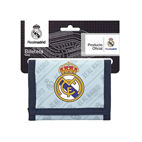 Safta Cartera Billetera Oficial Real Madrid Corporativa 125x95mm