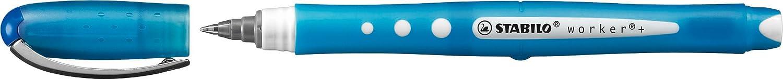 Stabilo 2019/40 Penna Roller, Confezione da 10