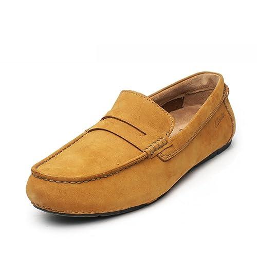 Clarks Marcos Drive, Mocasines para Hombre: Amazon.es: Zapatos y complementos