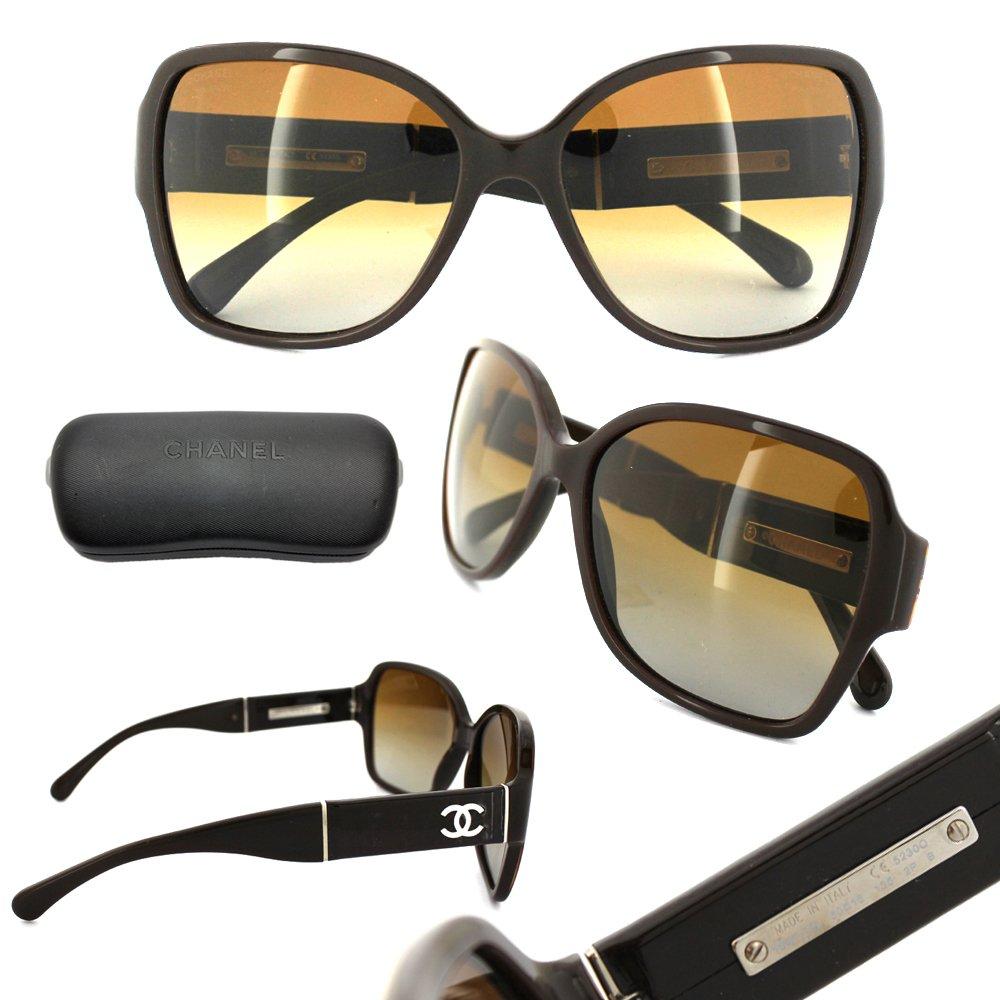 Gafas de Sol Chanel CH5230Q BLACK/GRAY GRADIENT: Amazon.es ...