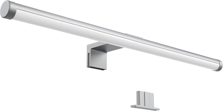 XFXDBT Schrankleuchte,led Spiegel Frontlicht Einstellbar Winkel Wandleuchte Spiegellampe Schminklicht Wandleuchten-k/ühles Wei/ß 90cm-20w