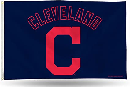 WinCraft Cleveland Indians Block C Logo Flag and Banner