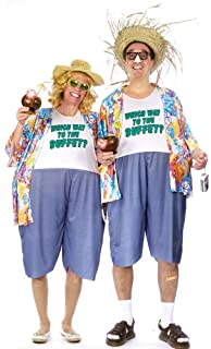 Amazon Com Fun World Tacky Adult Tourist Costume Standard Clothing