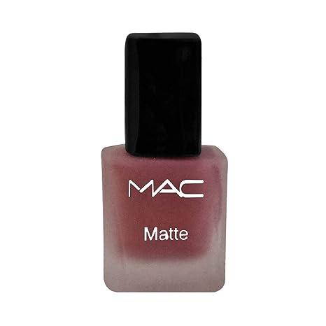 Buy Mac matte nail paint by Guruji creations(Brown Colour