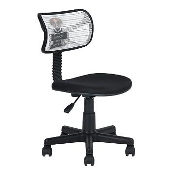 Tarea de malla oficina en casa ordenador sillas Mid Back giratorio ...