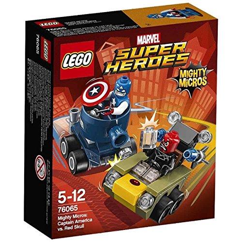 Lego Micro:Capt America/R Size Ea Lego Mighty Micro:Captain America Vs Red S 76065