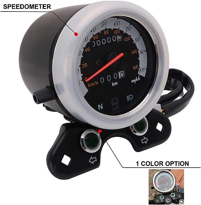 Speedometer Odometer Aftermarket Accessories Fit for Honda DAX Bike CT70 Bike 100km//h Suuonee Speedometer