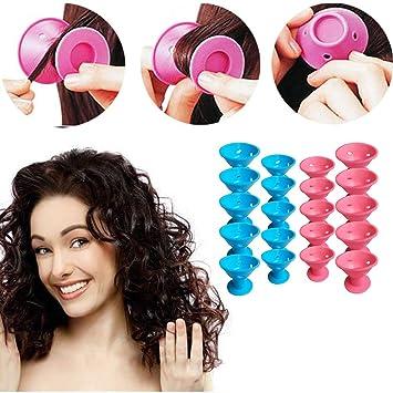 nouveaux prix plus bas détaillant aperçu de Beito Pro Roller Hair Tool 20PCS Magic Rollers Kit Silicone ...