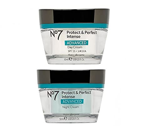 No7 Protect Perfect Intense Day Cream Protect Perfect Intense Night Cream Advanced